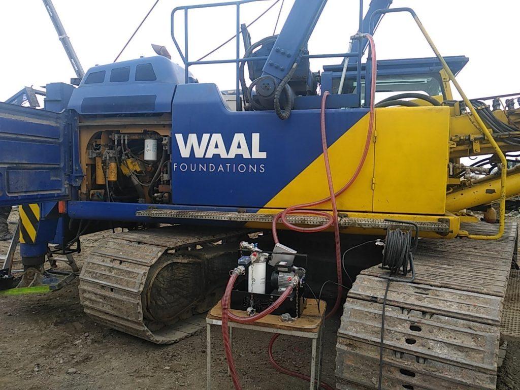 Dieselfiltration on-site